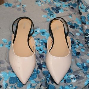 Express Pointed Toe Slip On Flat
